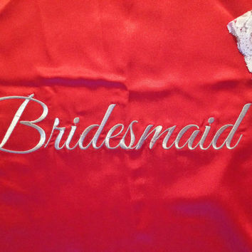 Personalized kimono robe, Bridesmaid robe, monogrammed robe, bride robe, embroidered robe, monogram robe, embroidery robe, monogramming robe
