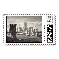 Postage Stamps - Brooklyn Bridge