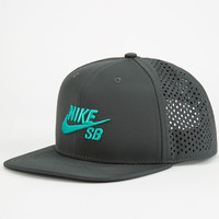 Nike Sb Performance Mens Trucker Hat Charcoal/Blue One Size For Men 24431617901