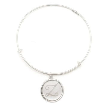 Alex and Ani Precious Initial Z Charm Bangle - Argentium Silver