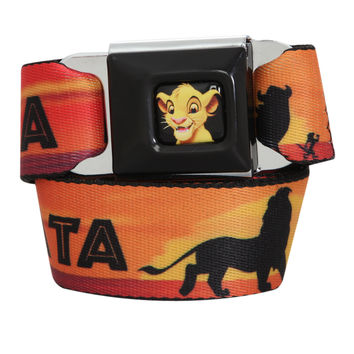 Disney The Lion King Hakuna Matata Seat Belt Belt | Hot Topic