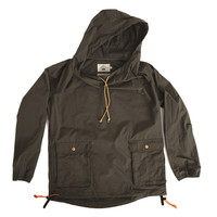 Wideneck Anorak (Burnt Brown)