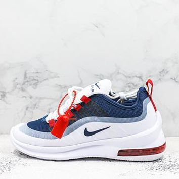 Nike Air Max Axis Navy Red Black White Running Shoes - Best Deal Online
