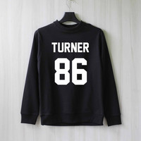 Turner 86 Alex Turner Sweatshirt Sweater Shirt – Size XS S M L XL