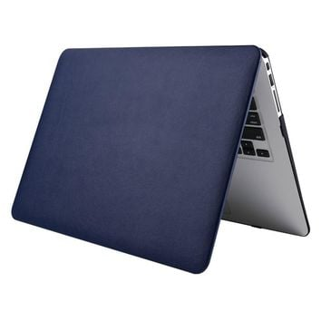 Notebook Leather Hard Cover Case For Macbook Air