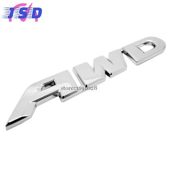 Car-styling 3D Metal Badge Stickers Auto Emblem Decals Decoration For AWD Logo For Volkswagen Ford Jeep Honda Audi BMW Citroen
