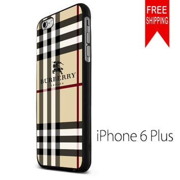 BURBERRY Pattern London NDR iPhone 6 Plus Case