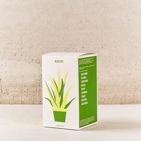Grow Your Own Aloe Plant Kit | Urban Outfitters
