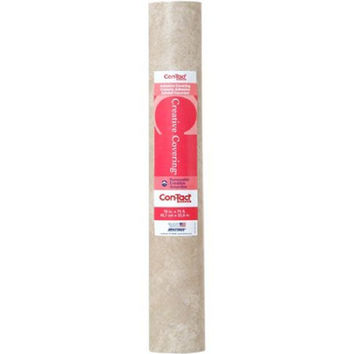 "Con-Tact Creative Covering Multipurpose Shelf Liner, 18"" x 75' Roll, Marble Coff"