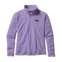 Patagonia Women's Micro D® Quarter Zip Fleece | Ploy Purple