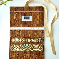 Jewelry Roll - Design Your Own Custom Gift for Her - Bark & Saffron Aviary Collection