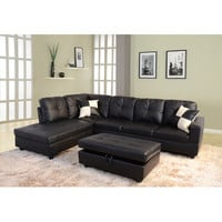 Beverly Fine Furniture Della Left Hand Facing Sectional