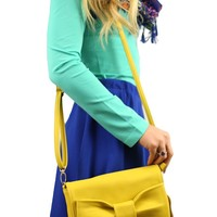 All A-bow-t That Bass Purse in Yellow