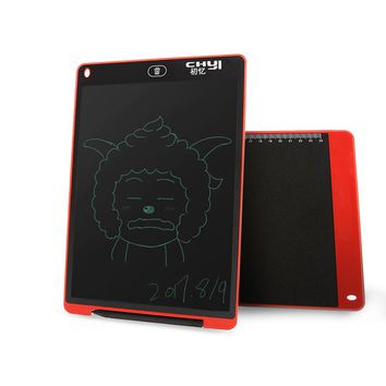 12 inch LCD Writing Board Drawing Tablet Paperless Digital Notepad Portable Message Graphic Board Kids Gift with Stylus Pen