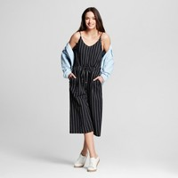 Women's Striped Jumpsuit - Universal Thread™ Black
