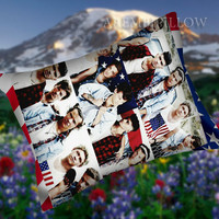 One Direction Fabulous Whit Flag - Pillow Case,Retro Pillow,Throw Pillow,Sova Pillow,Pillow Cover.The Best Pillow.