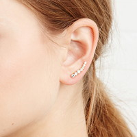 Rhinestone Ear Pins