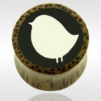 Coconut Wood Plug Piercings - Ear Gauge Piercings