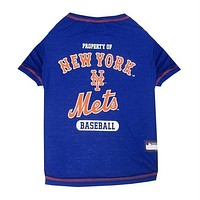 New York Mets Pet T-Shirt