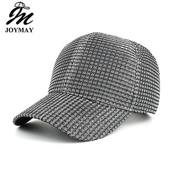 Joymay 2017 Spring New Women Lace Fabric Baseball cap Adjustable Fashion Leisure Casual Snapback HAT B414