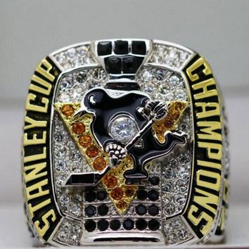 Drop Shipping 2017 Pittsburgh Penguins Stanley Cup Championship Rings For MVP CROSBY