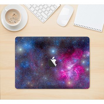 "The Pink & Blue Galaxy Skin Kit for the 12"" Apple MacBook"