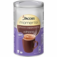 Jacobs Moments Cappuccino with Milka Chocolate 17.6 oz. (500g)