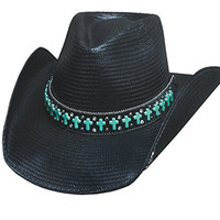 BULLHIDE HATS SASSY COWGIRL COLLECTION ROLL WITH ME 2838 (MEDIUM)