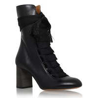 Chloe Harper Lace-Up Boots | Harrods