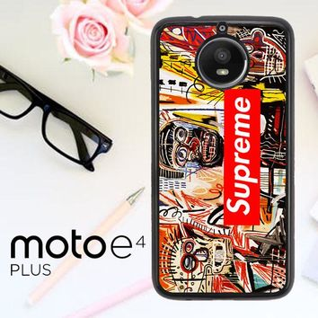 Supreme To Release Collection Featuring Basquiats V1635 Motorola Moto E4 Plus Case