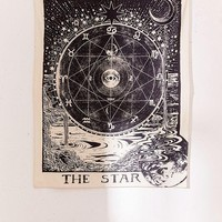 Tarot The STAR Bohemian Boho Wall Tapestry