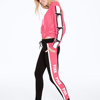 Cotton Campus Pocket Legging - PINK - Victoria's Secret