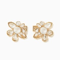 Eloise Flower Earrings | Fashion Jewelry | charming charlie
