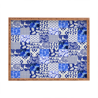 Aimee St Hill Blue Is Just A Mood Rectangular Tray