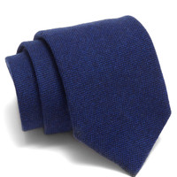 Drake's Solid Wool Tie