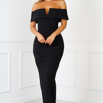 Angela Gown - Black