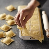 Ravioli Mold with Roller | Williams-Sonoma