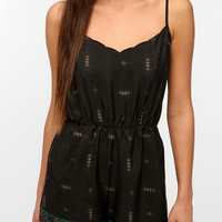 Urban Outfitters - Staring At Stars Diamond Border Romper