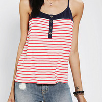 Urban Outfitters - BDG Contrast Racerback Tank Top