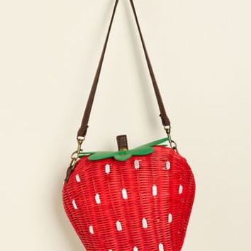 Collectif Results May Berry Crossbody Bag