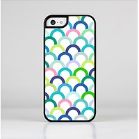 The Vibrant Fun Colored Pattern Hoops Skin-Sert Case for the Apple iPhone 5c