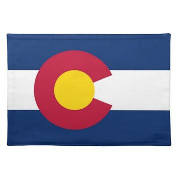 Colorado Flag American MoJo Placemat