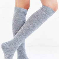 Cozy Marled Knee-High Sock- Grey One