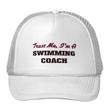 Trust me I'm a Swimming Coach Trucker Hat