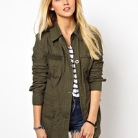 ASOS Four Pocket Utility Jacket