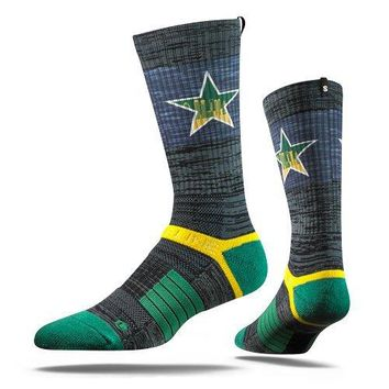 Strideline 2.0 NHL Dallas Stars City Star - Adult Crew Socks