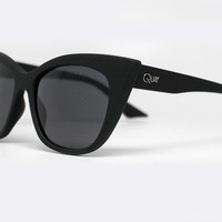 Quay Modern Love Black Sunglasses