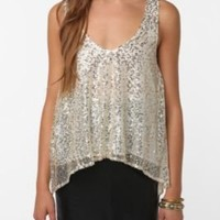 UrbanOutfitters.com > Lucca Couture Sequin Swing Tank