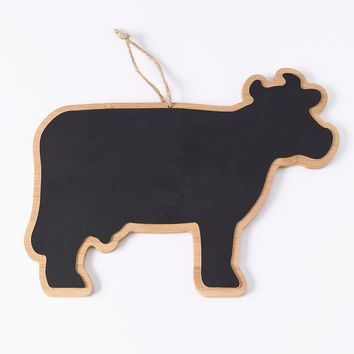 Food Network Bamboo Cow Chalkboard