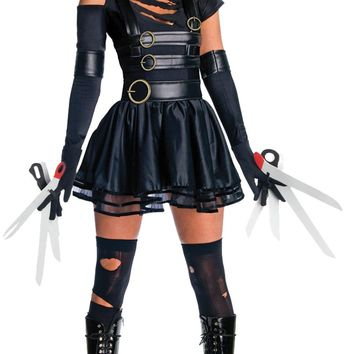 Miss Scissorhands Large Women's Costume for Halloween